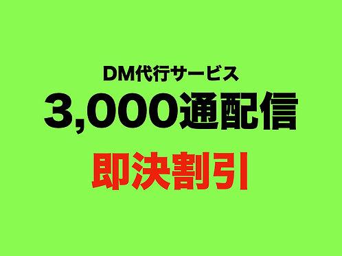 DM配信代行サービス(3,000通)(即決割引)