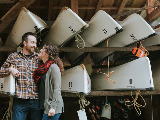 Ben & Nikki's Bowron Lake Engagement
