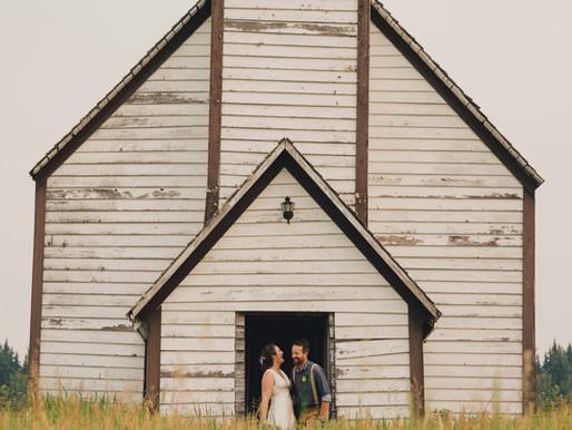 Ben & Nikki's Quesnel Backyard Wedding