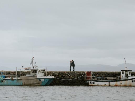 Aubrey & Kylee's Scotland Isle Of Sky Engagement
