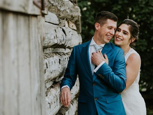JP & Latizia's The Cove Lakeside Resort Wedding