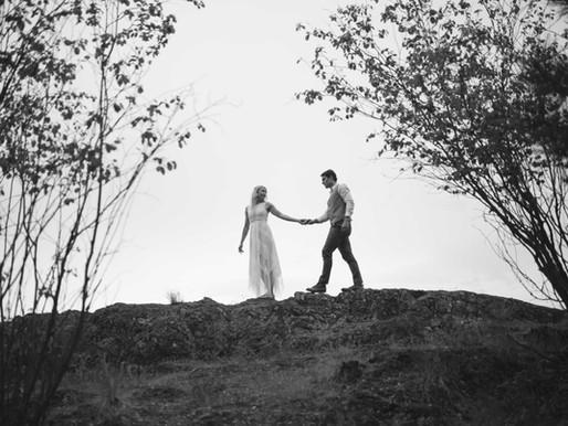 Jeff & Sarah's Mountain Top Wedding