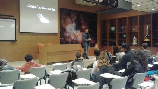 Taller de Coets a l'Astronòmica de Sabadell
