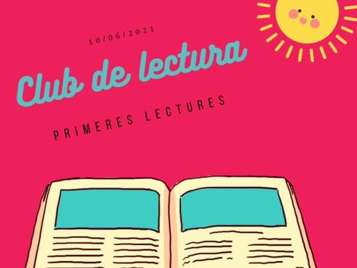 Trobada del Club de Lectura - juny (grup primeres lectures)