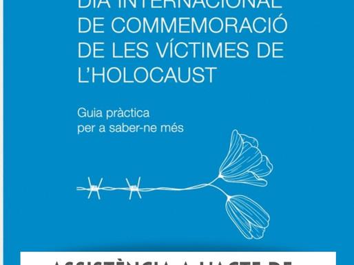 Presentació «Guia pràctica per a saber-ne més» del Dia Internacional de les Víctimes de l'Holocaust