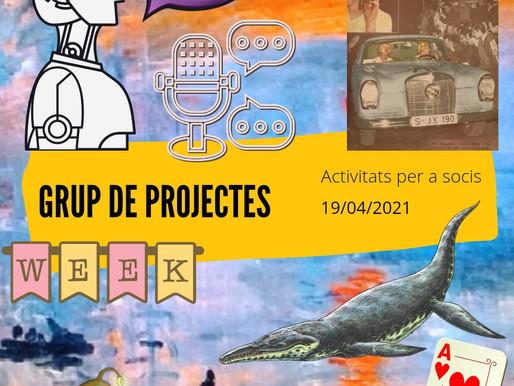 Trobada del Grup de Projectes Online - Abril 2021