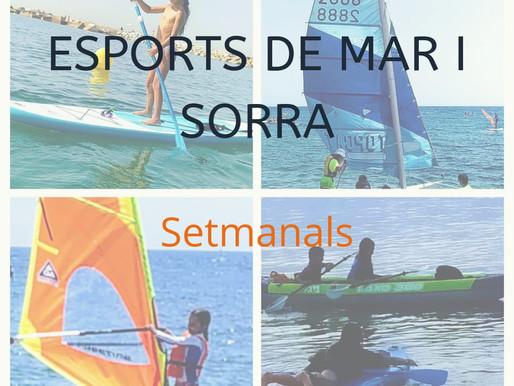 Esports de mar i sorra setmanals a Barcelona