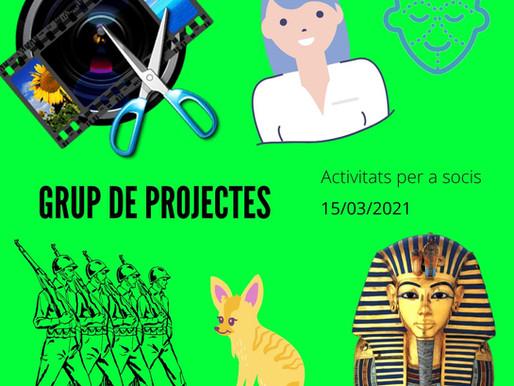 Trobada del Grup de Projectes Online - Març II 2021