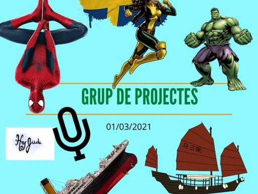 Trobada del Grup de Projectes Online - Març 2021