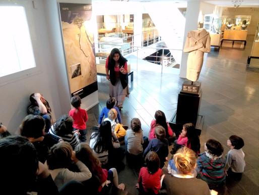 Taller de momificació al Museu Egipci de Barcelona