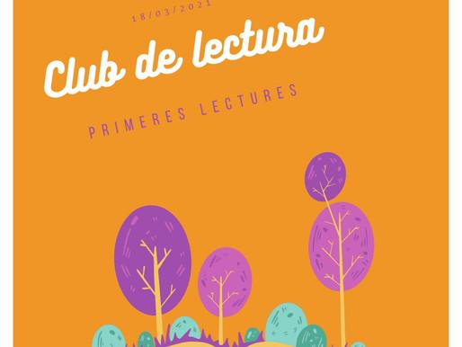 Trobada del Club de Lectura - març (grup primeres lectures)