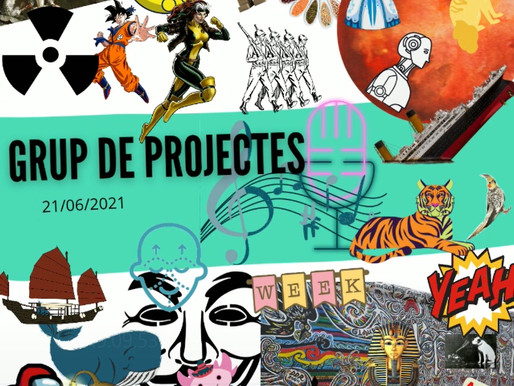 Trobada del Grup de Projectes Online - Juny II 2021