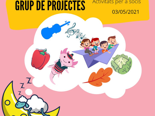 Trobada del Grup de Projectes Online - Maig 2021