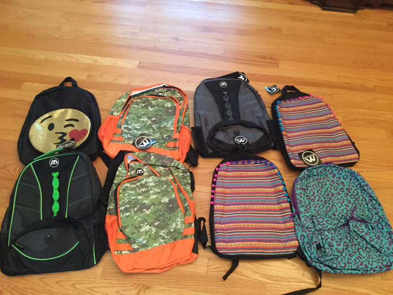 back pack drive