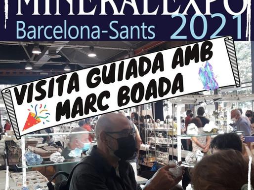 Visita guiada a Mineral Expo amb Marc Boada