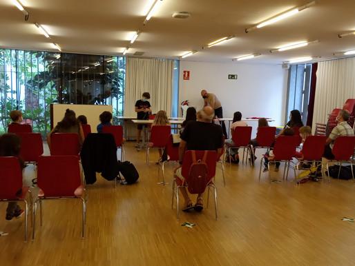 Primera trobada del Grup de Projectes curs 20/21