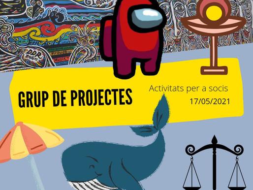 Trobada del Grup de Projectes Online - Maig II 2021