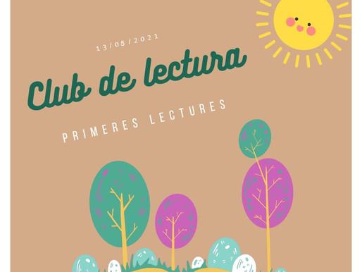 Trobada del Club de Lectura - maig (grup primeres lectures)