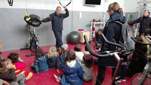 Visita als Bombers de Girona