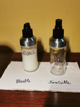 Visible - Invisible (Teo 13, Nil 11, Cedric 8)