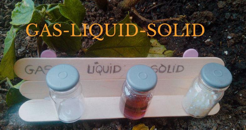 Gas - Líquid - Sòlid (Naia Sanchez, 7anys)