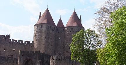 世界遺産・フランス・歴史的城塞都市カルカッソンヌ