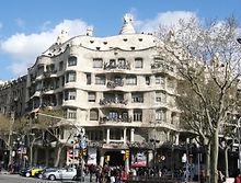 バルセロナ・カサ・ミラ
