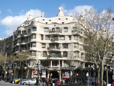 世界遺産・スペイン・アントニ・ガウディの作品群