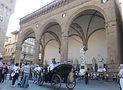 フィレンツェ・ランツィの回廊