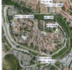 カルカッソンヌ地図