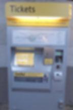 マンチェスター・トラム切符販売機