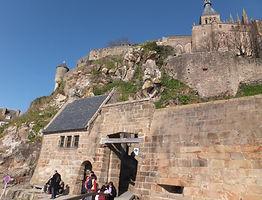 モンサンミッシェル・城門