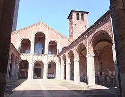 ミラノ・サンタンブロージョ聖堂