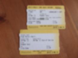 マンチェスター・トラム切符