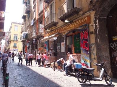世界遺産・イタリア・スカッパナポリ