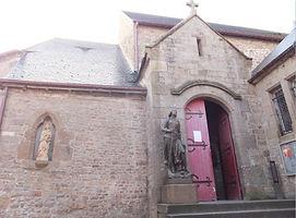 モンサンミッシェル・サンピエール教会