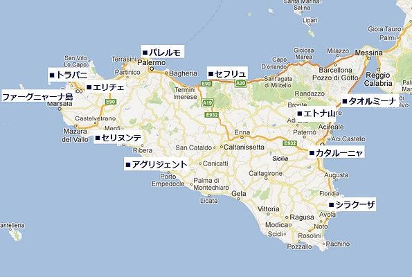 イタリア・フィレンツェ地図