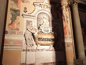 サンタ・クローチェ教会のガリレオ・ガリレイのお墓