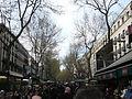 スペイン・バルセロナ・ランブラス通り