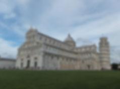 世界遺産・イタリア・ピサのドゥオモの広場
