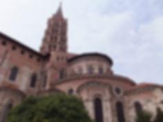 世界遺産・フランス・サン・セルナン・バジリカ聖堂
