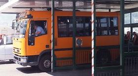 カプリ島のバス