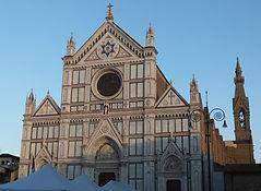 フィレンツェ・サンタ・クローチェ教会