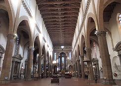 サンタ・クローチェ教会の内観