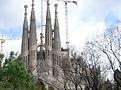 スペイン・バルセロナ・サグラダファミリア大聖堂