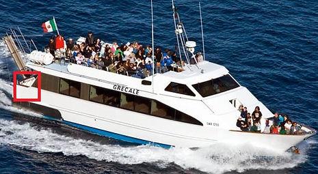 イタリア・カプリ島周遊クルーズ