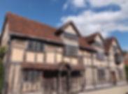 ストラットフォード・アポン・エイボン・シェイクスピアの生家
