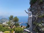 イタリア・カプリ島のホテル