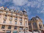 フランス・モンペリエのホテル