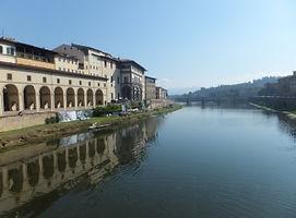 フィレンツェ・アルノ川